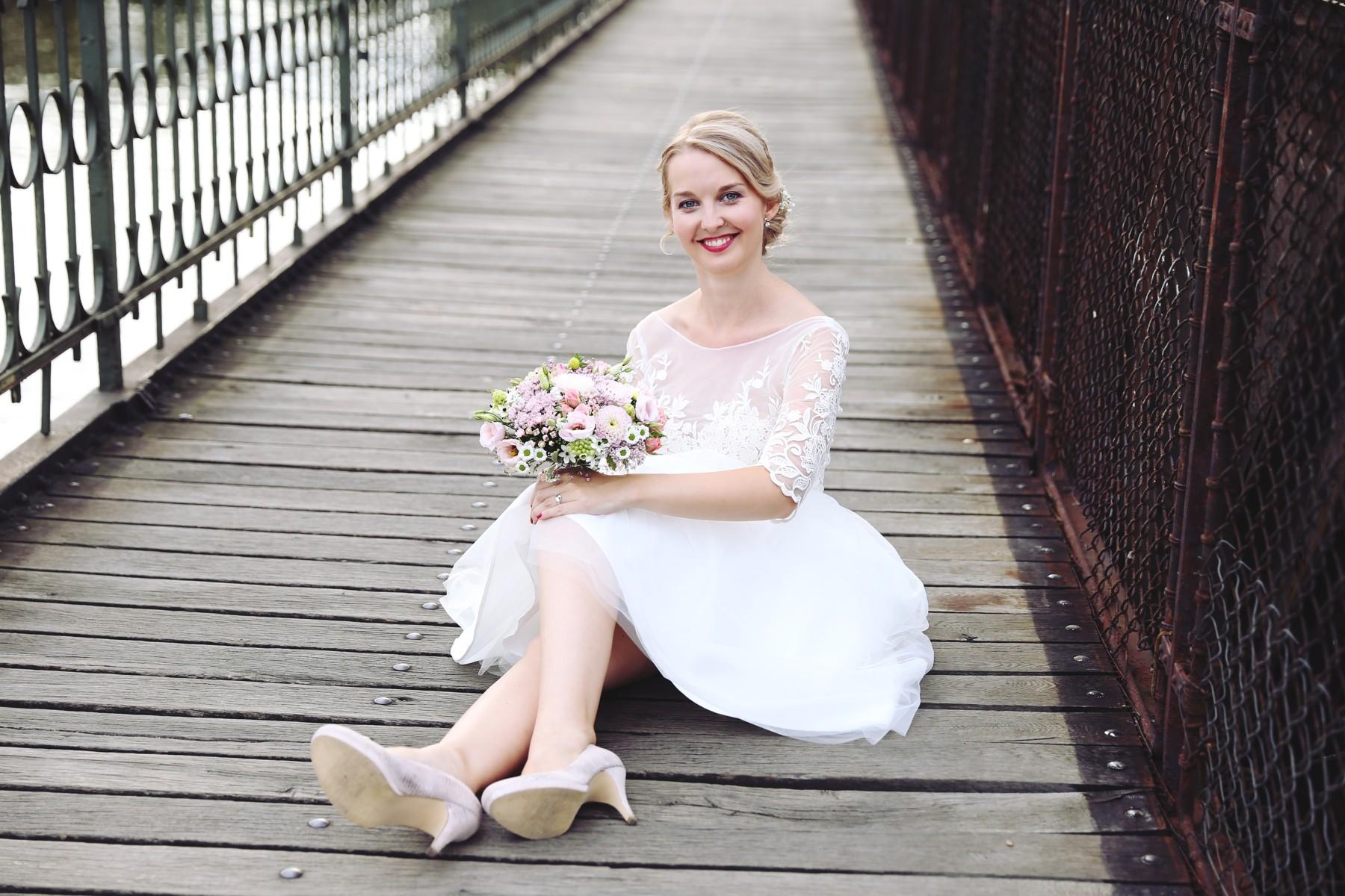 nevěsta na mostě