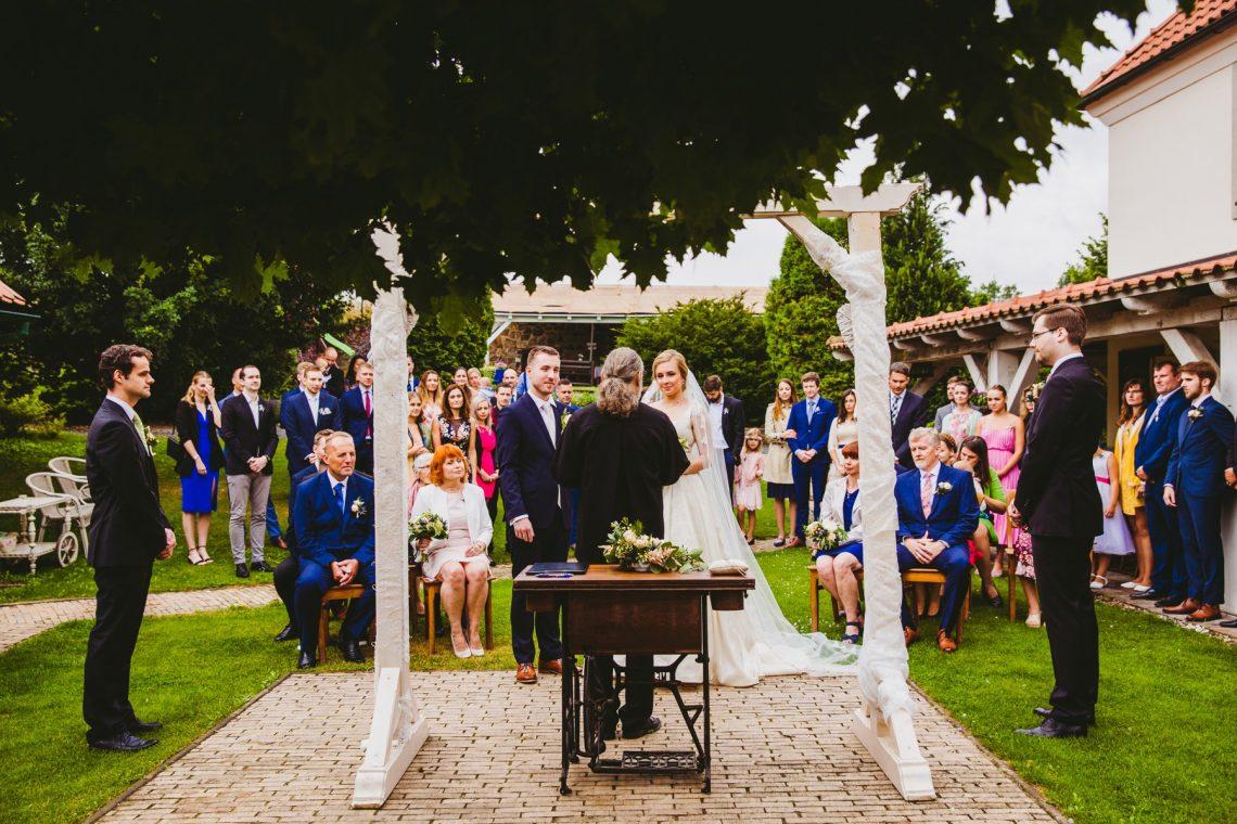 Svatba v Penzionu v Polích